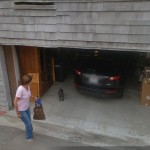 The required 4 space carport at 2210 Avenida de La Playa has been converted to a illegal single car. garage